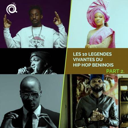 Les dix légendes vivantes du hip hop béninois (Suite et fin)