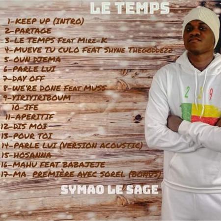 SYMAO LE SAGE envoie une frappe en pleine lucarne avec son nouvel album « LE TEMPS »
