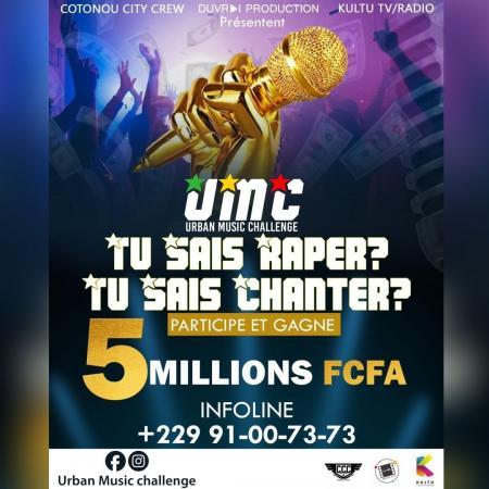 DuVrai prod, le CCC et Kultu Radio TV décident de rendre millionnaire un jeune artiste de la musique urbaine béninoise