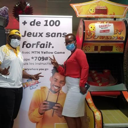 MTN BENIN LANCE LE «YELLOW GAME CHALLENGE»