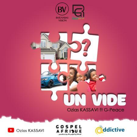 « Le vide », la chanson de Ozias Kassavi & G-Peace qui comble ce vide intemporel traîné par tous les êtres humains