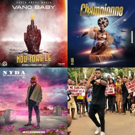 Zoom sur les sorties du week-end avec Vano Baby, Naria, Niyi Kosiberu & T-Gang