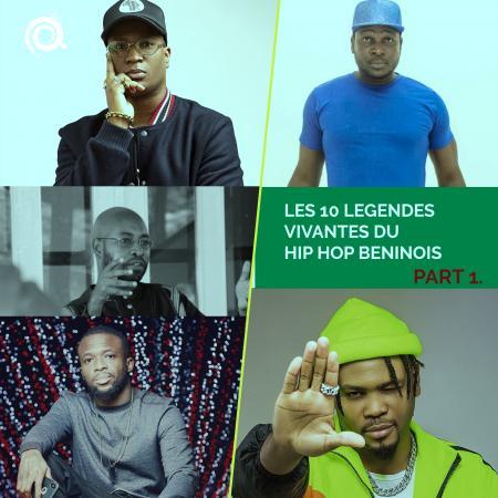 Les dix légendes vivantes du hip hop béninois (Première Partie)