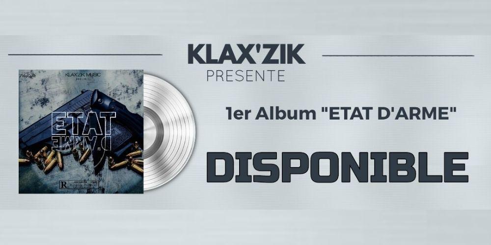 Sans état d'âme, le groupe Klax'Zik Musik mitraille le game avec leur nouvel album «État d'Arme»