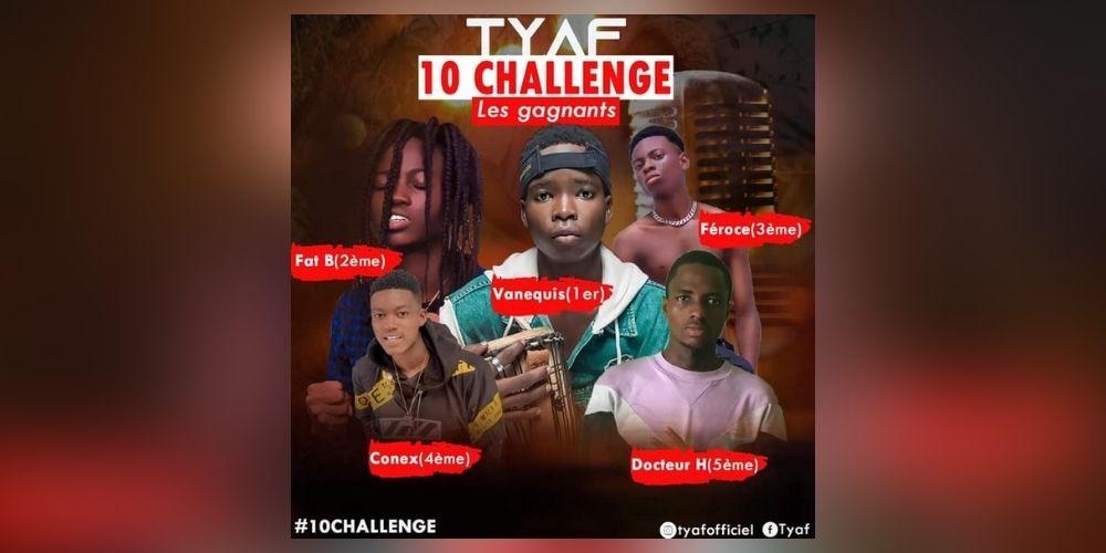 Challenge «10» de Tyaf: Les cinq artistes retenus sont désormais connus du grand public