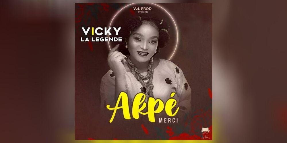 Vicky La Légende rend grâce à son Créateur dans son nouveau single «AKPE»