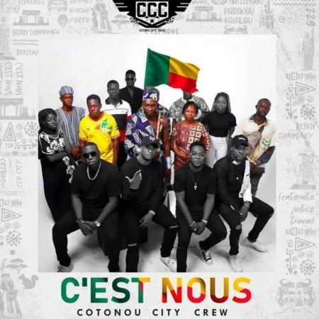 Le Cotonou City Crew offre en cadeau au public son nouvel album «C'est Nous»