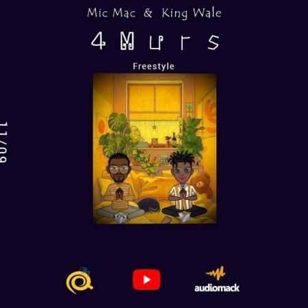 Le duo Mic Mac & King Walé envoie une grosse frappe avec « 4 Murs Freestyle »