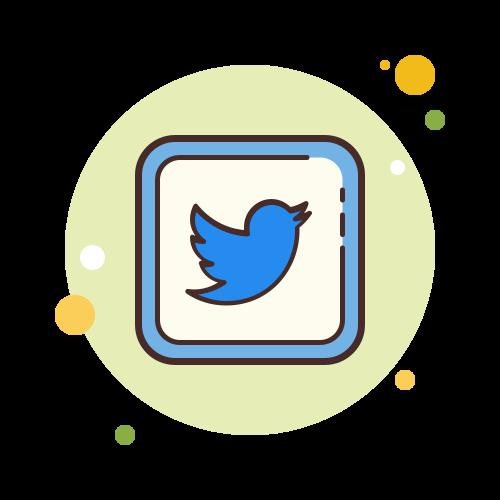 Logo Twitter sur My Addictive